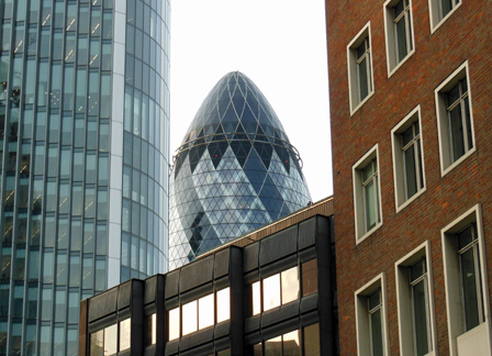 gherkin among old buildings.jpg